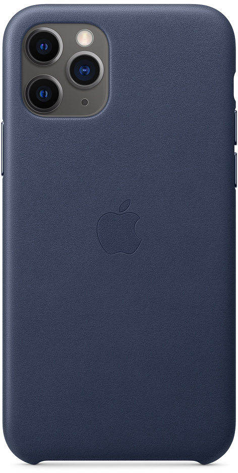 Чехол IPhone 11 Pro Leather Case MWYG2ZM/A Blue